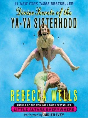Divine Secrets of the Ya-Ya Sisterhood novel cover