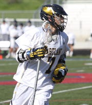 Reece Potter has led Hartland to two straight state lacrosse semifinals.