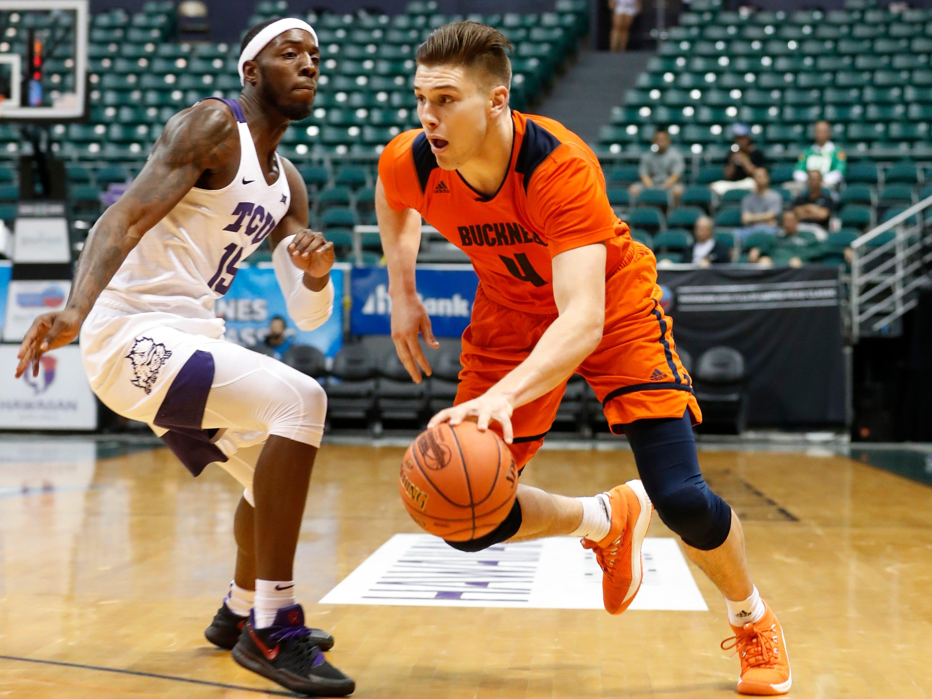 Kentucky basketball adds Bucknell graduate transfer Nate Sestina for next season