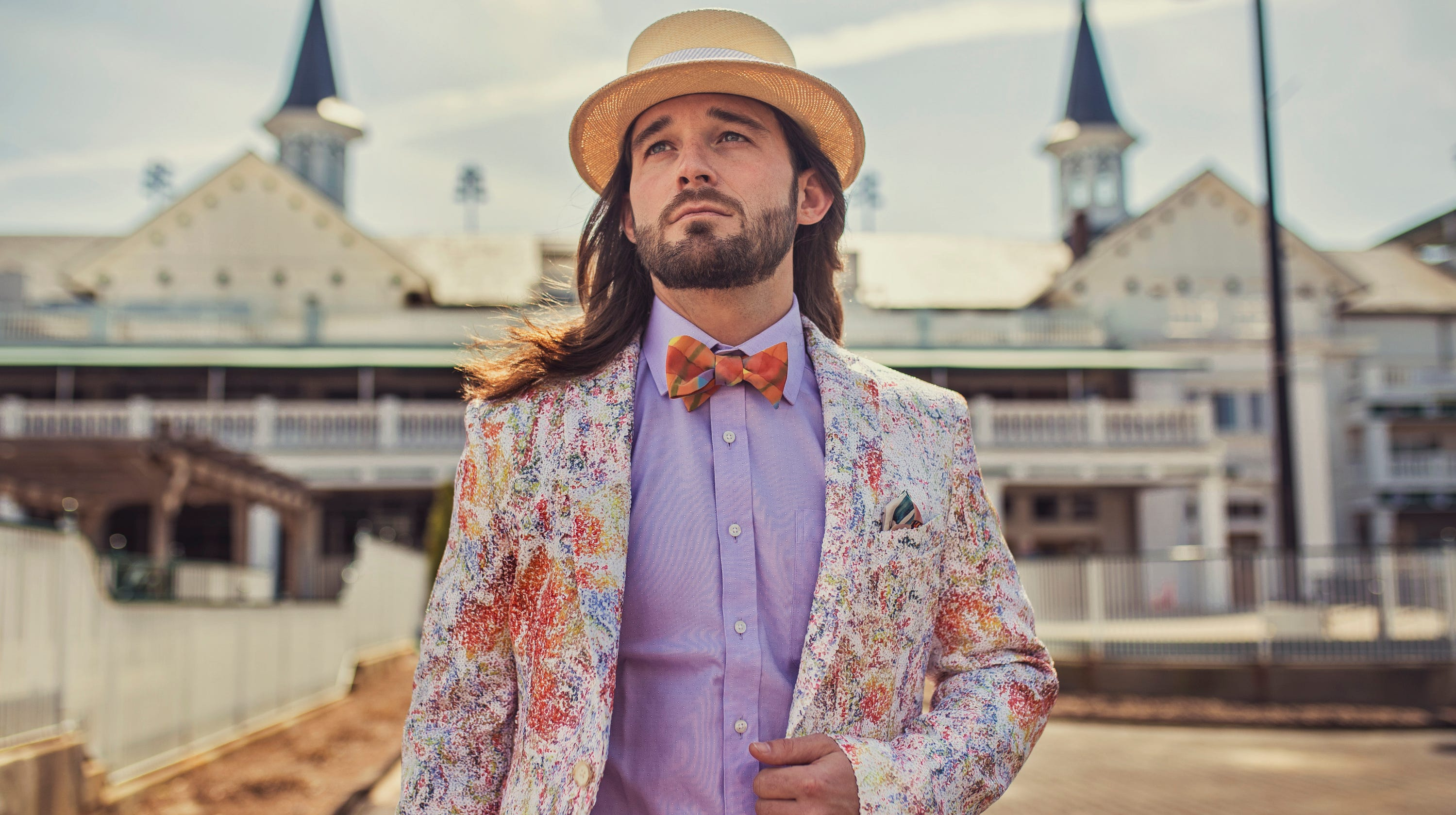 3bc2c31a598c Kentucky Derby outfits for guys 2019: Men's attire, hats, bow ties