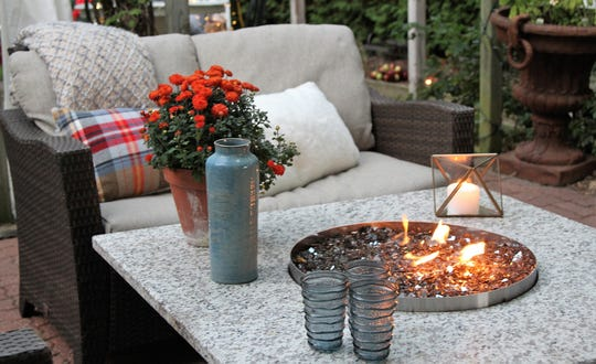 A fire pit is a fantastic way to add appeal to an outdoor space.