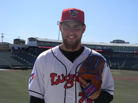 Lansing Lugnuts pitcher Josh Winckowski was the Northwest League pitcher of the year last season.
