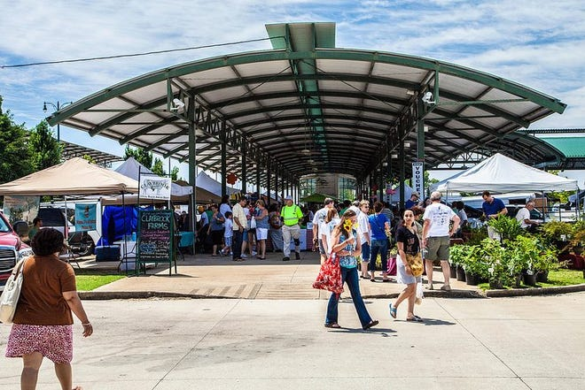The Memphis Farmers Market opens annually the first Saturday in April.