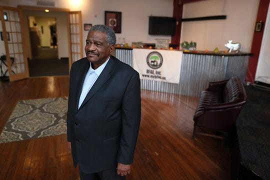 Thomas Burrell, president of the Black Farmers and Agriculturalists Association, at the organization's Downtown Memphis headquarters on Friday, Feb. 22, 2019.