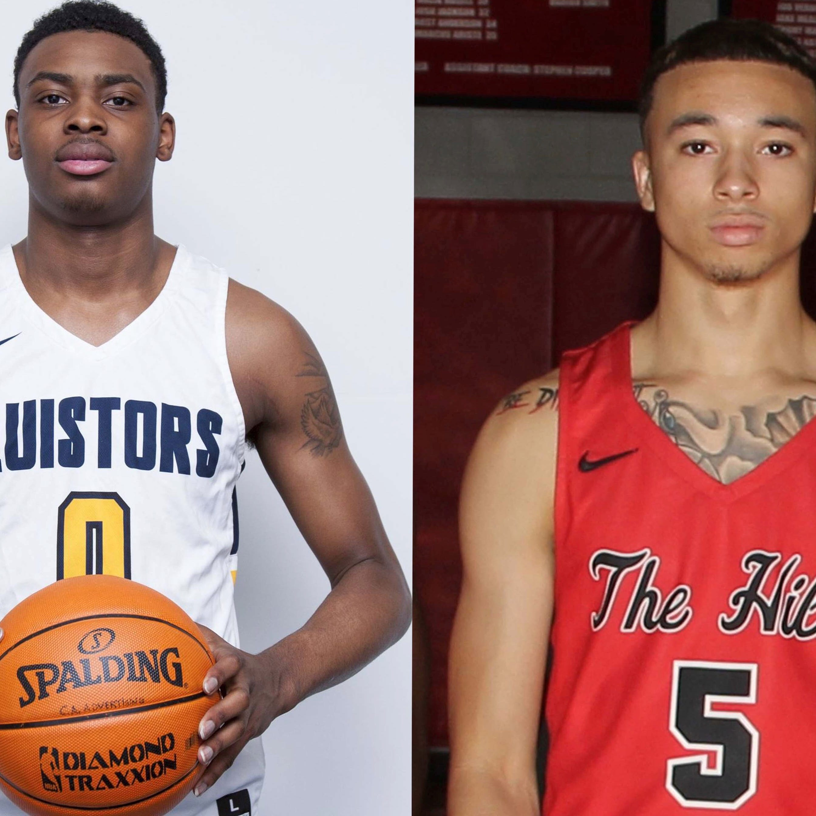 High school stars D.J. Jeffries, Calvin Temple want to unite Olive Branch through basketball
