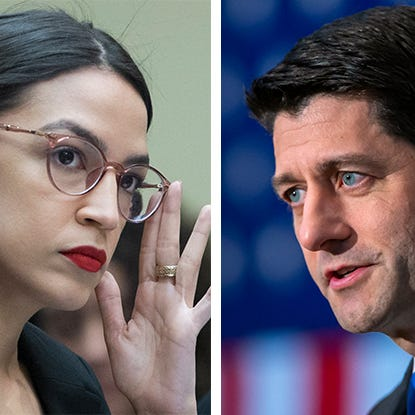 Paul Ryan says Alexandria Ocasio-Cortez didn't 'listen to a thing' he said about being a good member of Congress