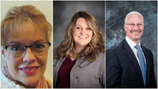 Hartland voters selected (from left) Ann Wallschlager, Robyn Ludtke and Rick Conner to serve as trustees on the village board for the next 2 years.