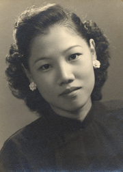 May Klisch's mother, Jean Loong, prepared healing soups for her four children when they were under the weather.
