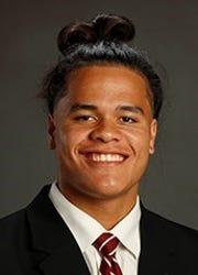 Alabama redshirt freshman linebacker Cameron Latu