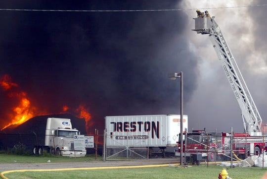 A 2003 fire at the CR3 rubber-recycling facility on the south side of Muncie has left the property unused since then.