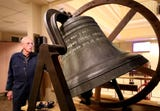 A 147-year-old bell was recovered, refurbished and reunited with the First United Methodist Church congregation