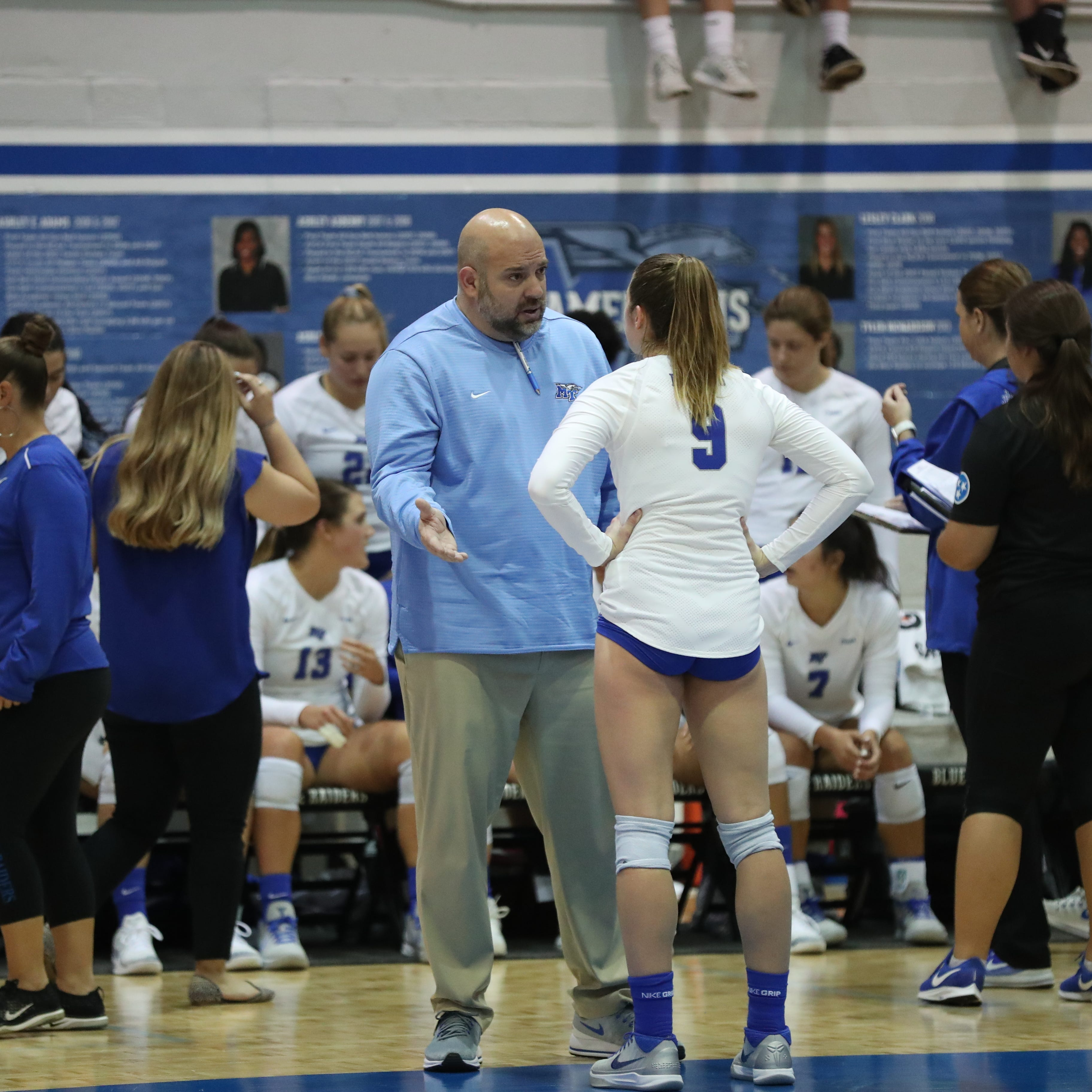 Suspended MTSU volleyball coach Chuck Crawford explains allegations on message board