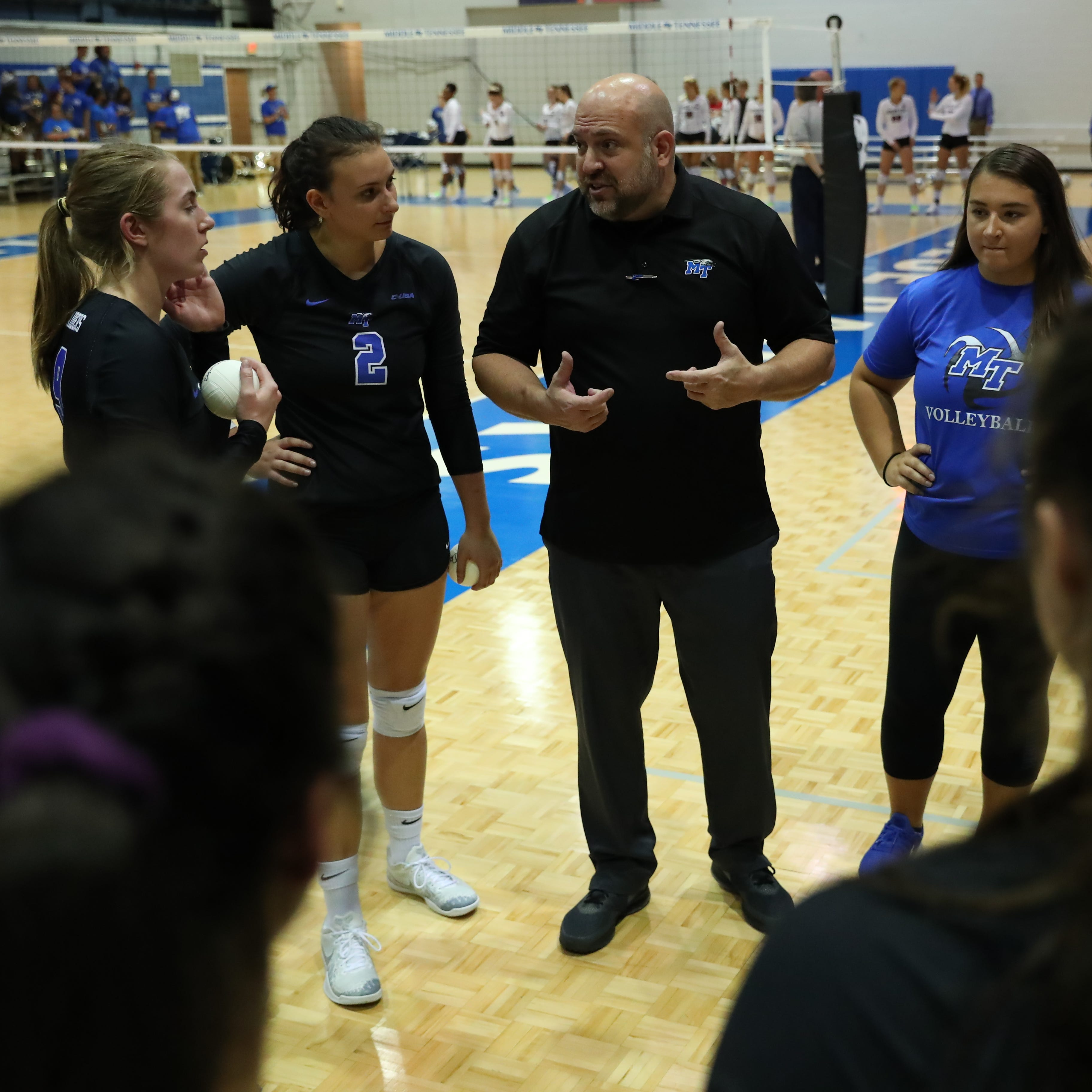 MTSU volleyball coach Chuck Crawford suspended after claims of player mistreatment