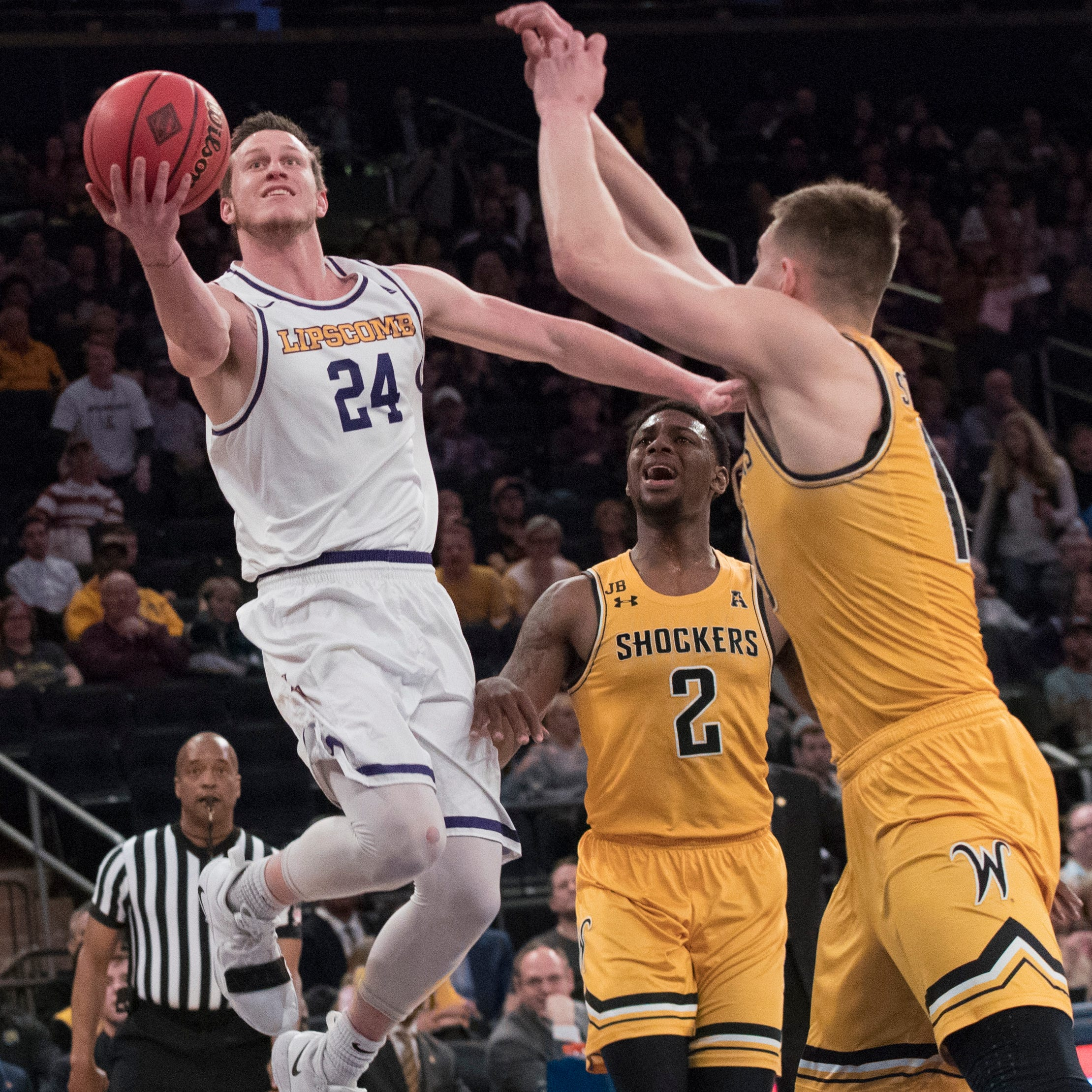 Lipscomb basketball shocks Wichita State to advance to NIT finals at Madison Square Garden