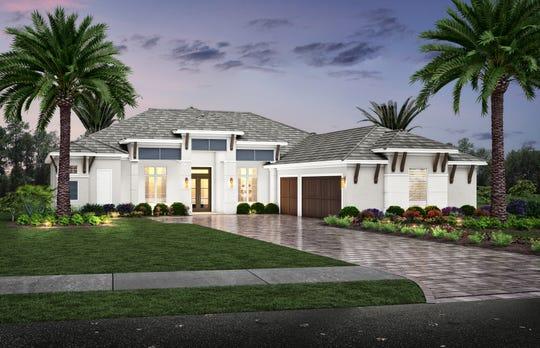 Monaco furnished model will feature an interior by Theory Design's Ruta Menaghlazi.