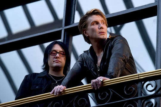 Robby Takac and John Rzeznik of the Goo Goo Dolls.