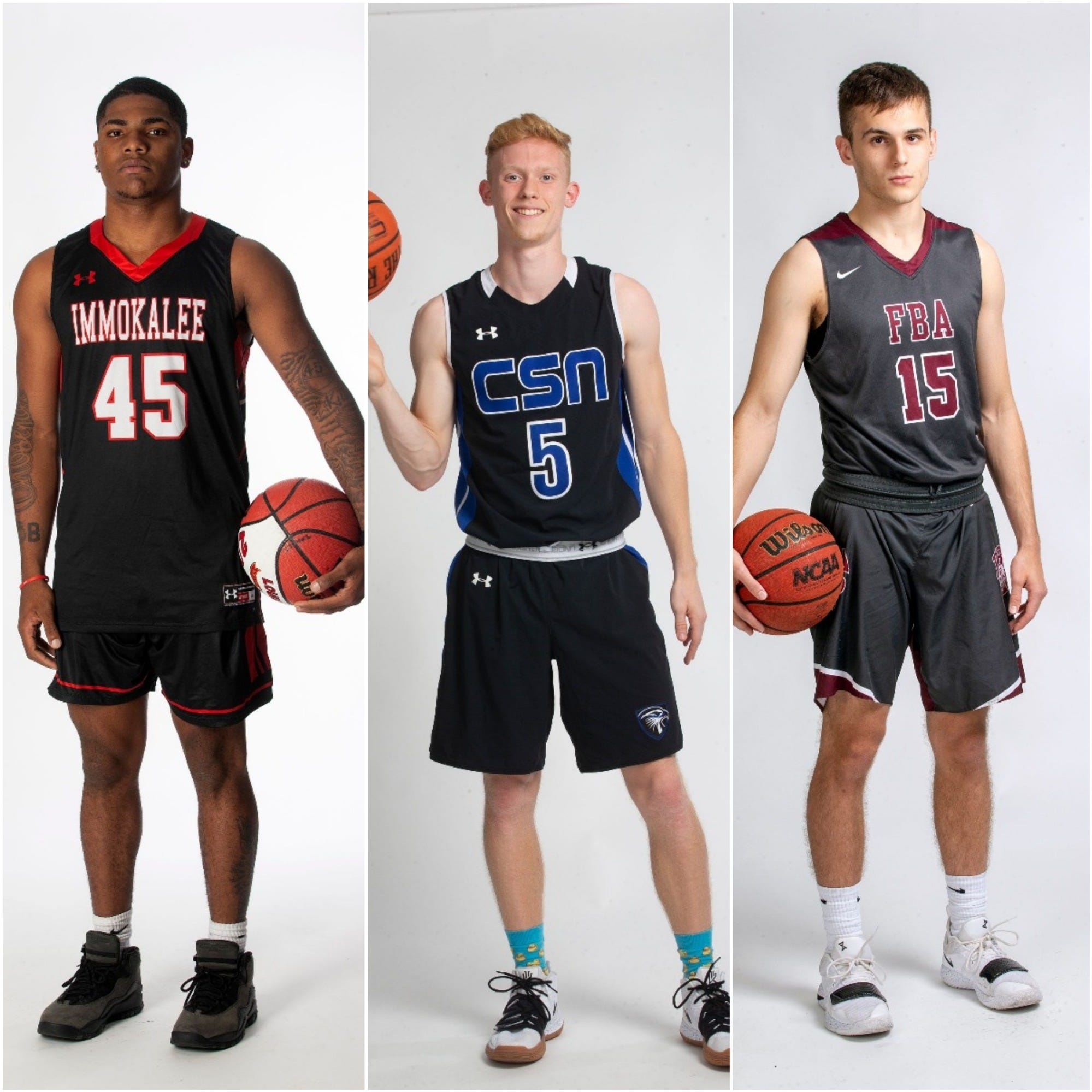 Naples Daily News 2019 Boys Basketball All-Area Team