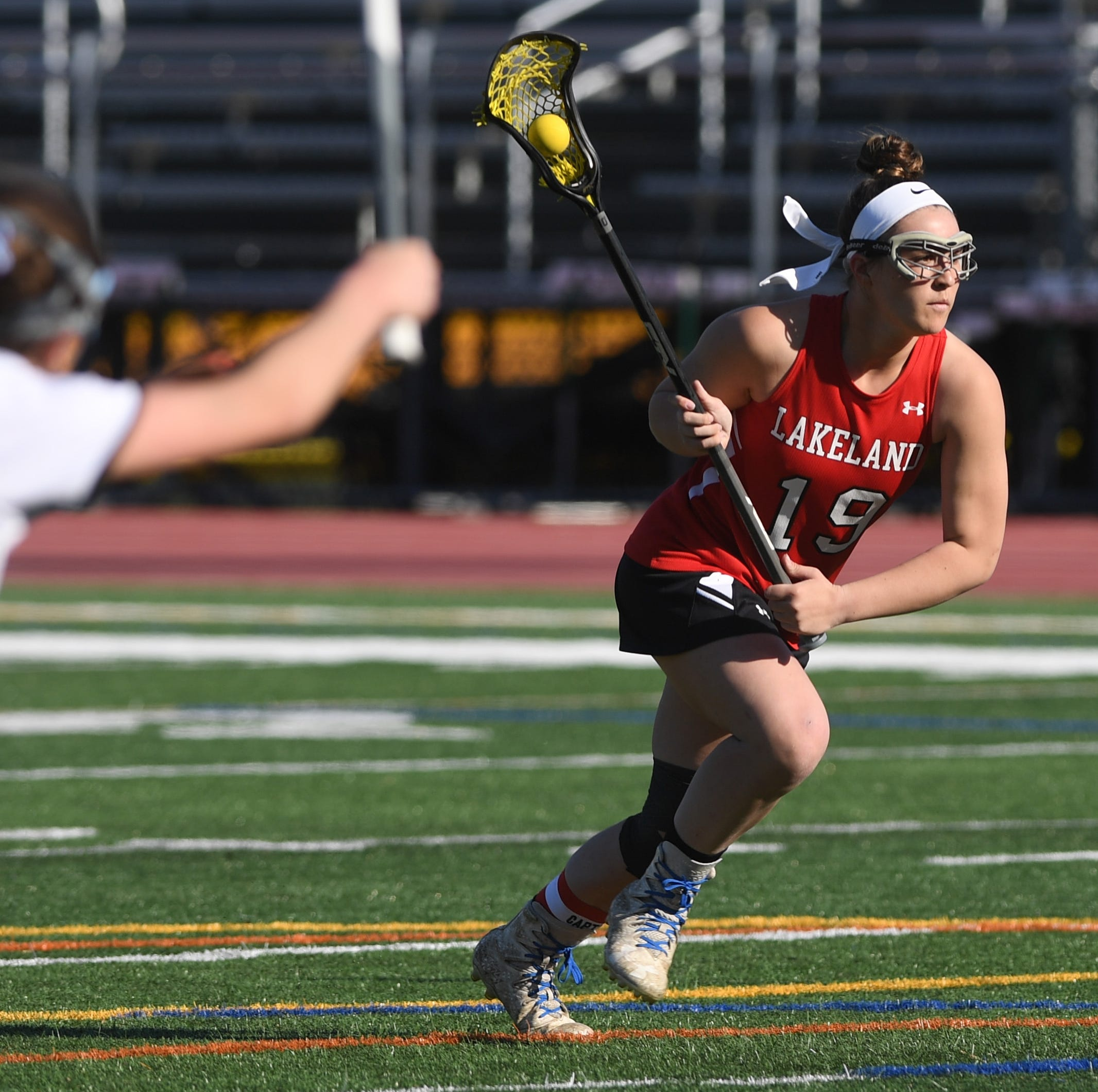 Lakeland's Kendall Lomascola is a lacrosse captain, superstar. And she only has one lung