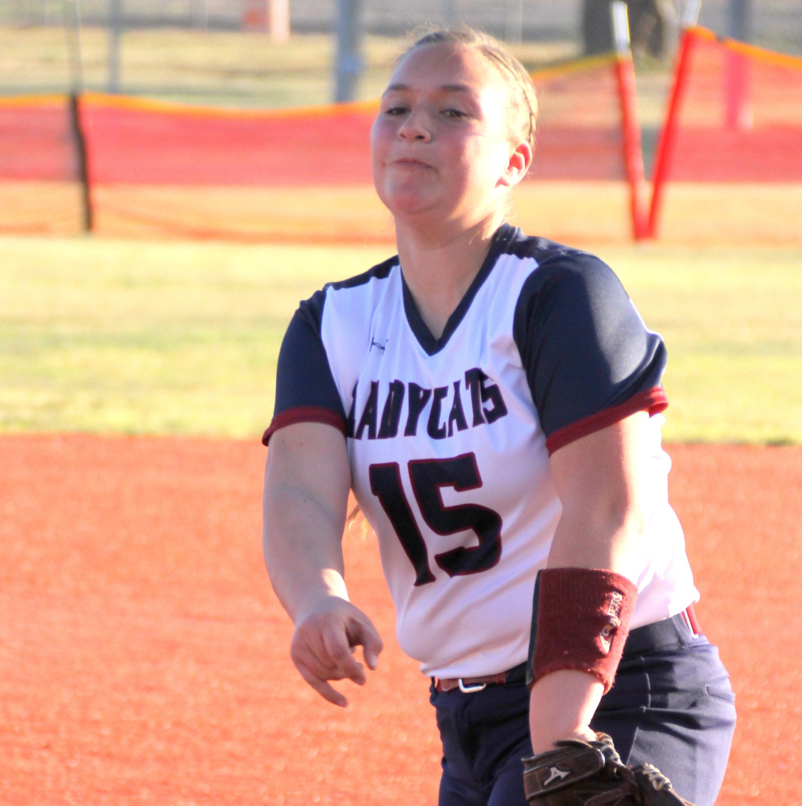 Deming High Lady 'Cats blanked by Oñate Knights 11-0 in District 3-5A softball