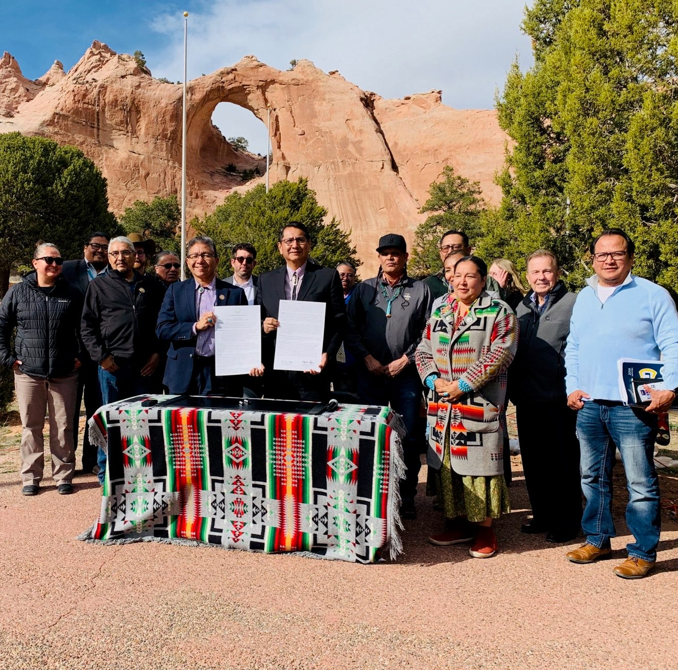 Proclamation supports renewable energy transition for Navajo Nation