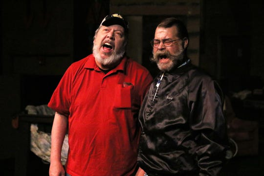 """Tim Bagley, left, and Charles Holmes are featured in the Theater Ensemble Arts production of """"A Way Back"""" opening this weekend at the Totah Theater in Farmington."""
