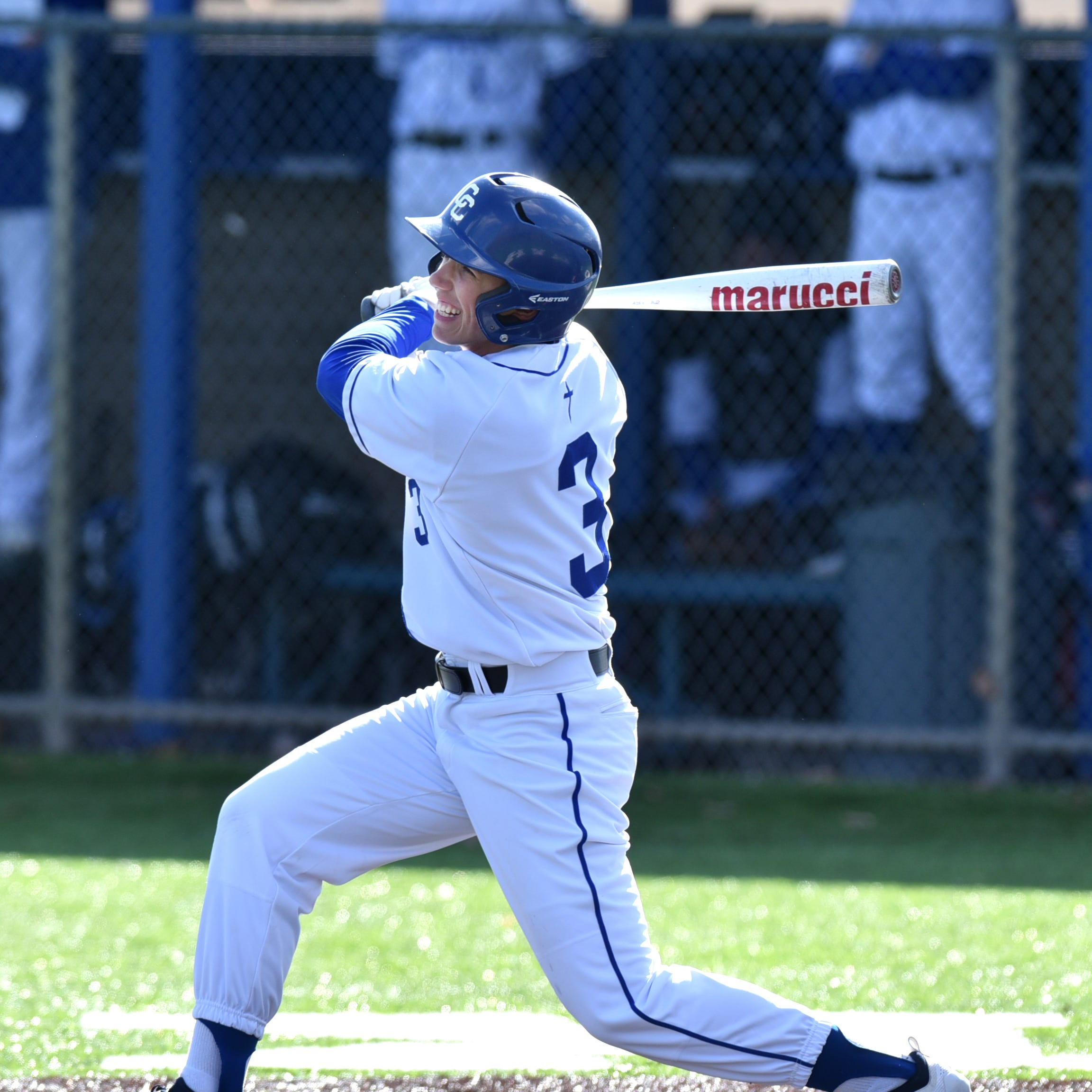 Detroit Catholic Central baseball sweeps Birmingham Brother Rice