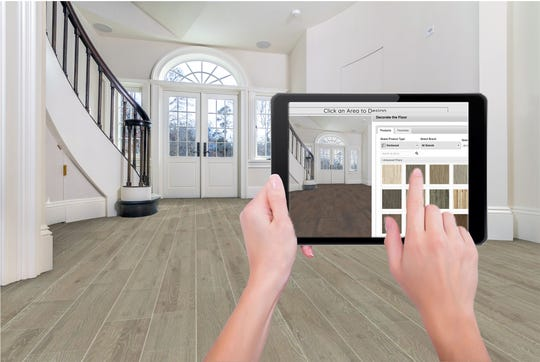 Take a digital picture of your own room, upload it to the Baker Bros website and within 48 hours you will be able to decorate your own room with their Virtual Room Designer.