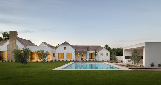 The Paradise Valley estate, sold by Meir and Yvonne Zenati, includes a courtyard, pool, gazebo and barbecue area.