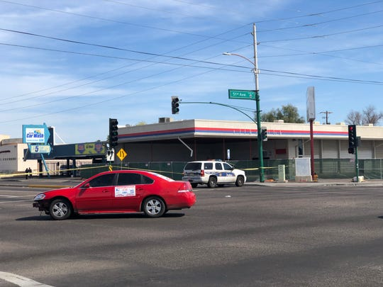 Phoenix police responded to a shooting at 51st Avenue and Indian School Road on April 3, 2019.