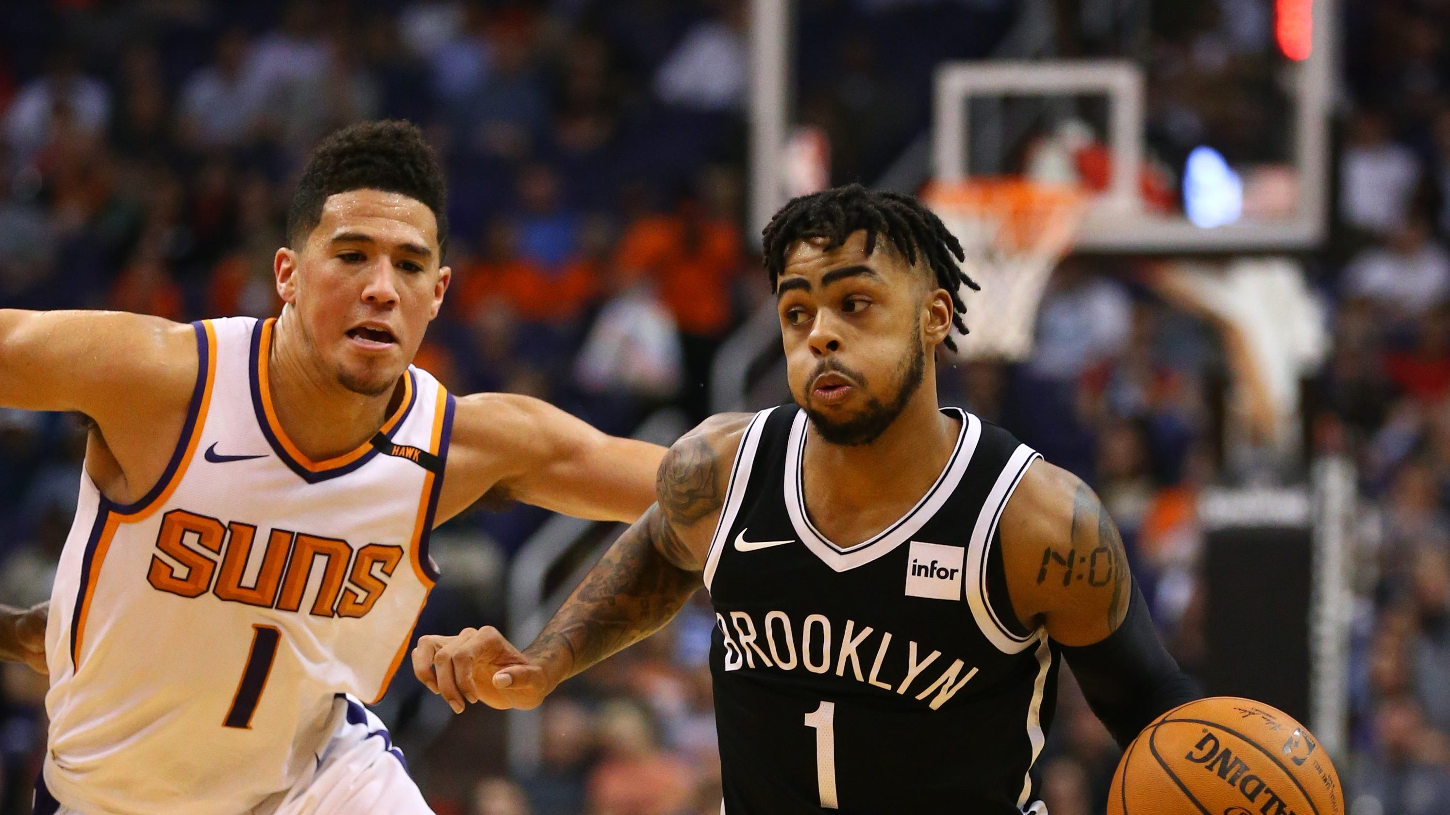 34fb13aa9ebc D Angelo Russell rumors  Suns linked to Nets guard in NBA free agency