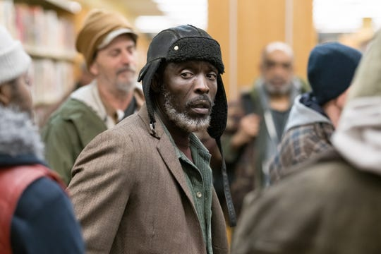 """Jackson (Michael Kenneth Williams) is the ringleader of a protest in """"The Public."""""""