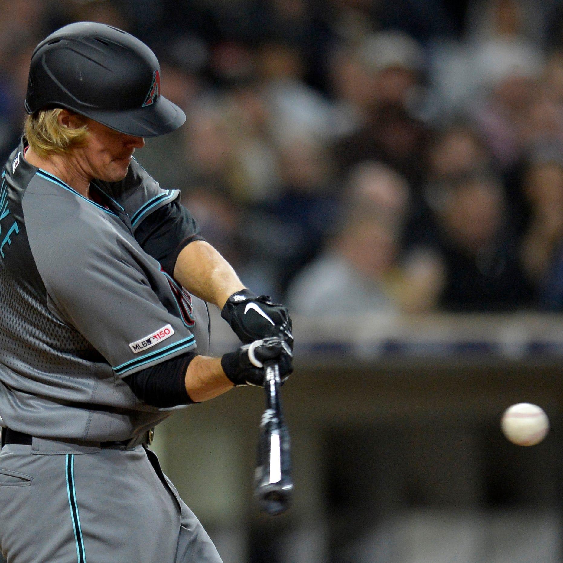 Diamondbacks' Zack Greinke homers twice, strikes out 10 in win over Padres