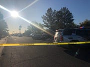 Gunshots fired by an Arizona Department of Public Safety trooper early Wednesday near 43rd and Maryland avenues are being investigated. No one was injured.