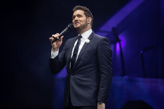Michael Bublé will be at Fiserv Forum March 29.