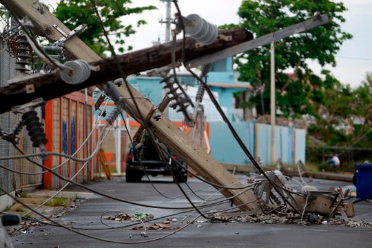 La falta de energía eléctrica fue uno de los mayores problemas durante los meses posteriores el huracán María.