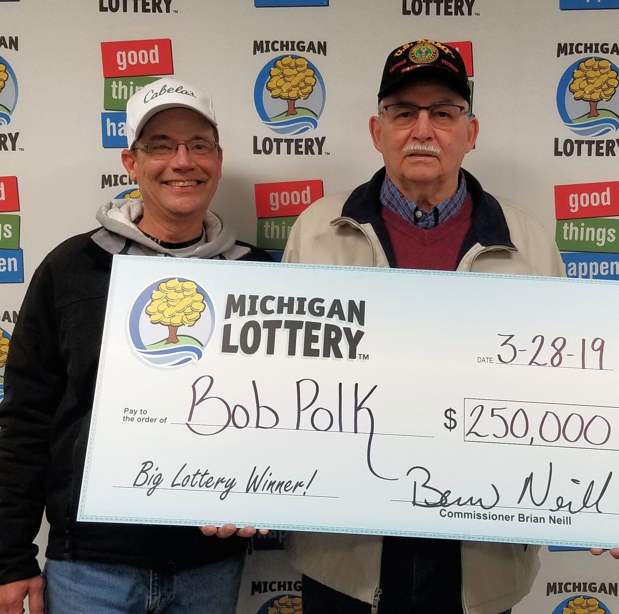 St. Clair man wins $250,000 Michigan Lottery prize