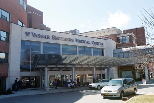Vassar Brothers Medical Center in the City of Poughkeepsie on April 3, 2019.