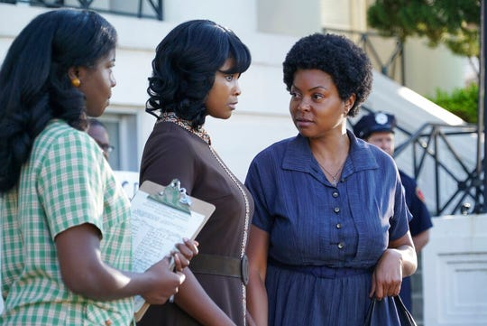 "Taraji P. Henson, right, stars in ""The Best of Enemies."" The movie opens Friday at Regal West Manchester Stadium 13."