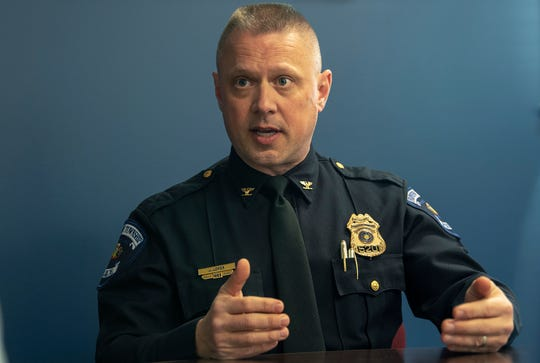 """In an interview, Fairview Township Police Chief Jason Loper emphasized that he's never been part of an undercover prostitution sting. He said the police department doesn't have policies for how every single crime should be investigated. """"We don't have a policy, 'If you have a robbery, this is how it's going to be done,' or, 'If you have a theft, this is how it's going to be done,"""" he said."""