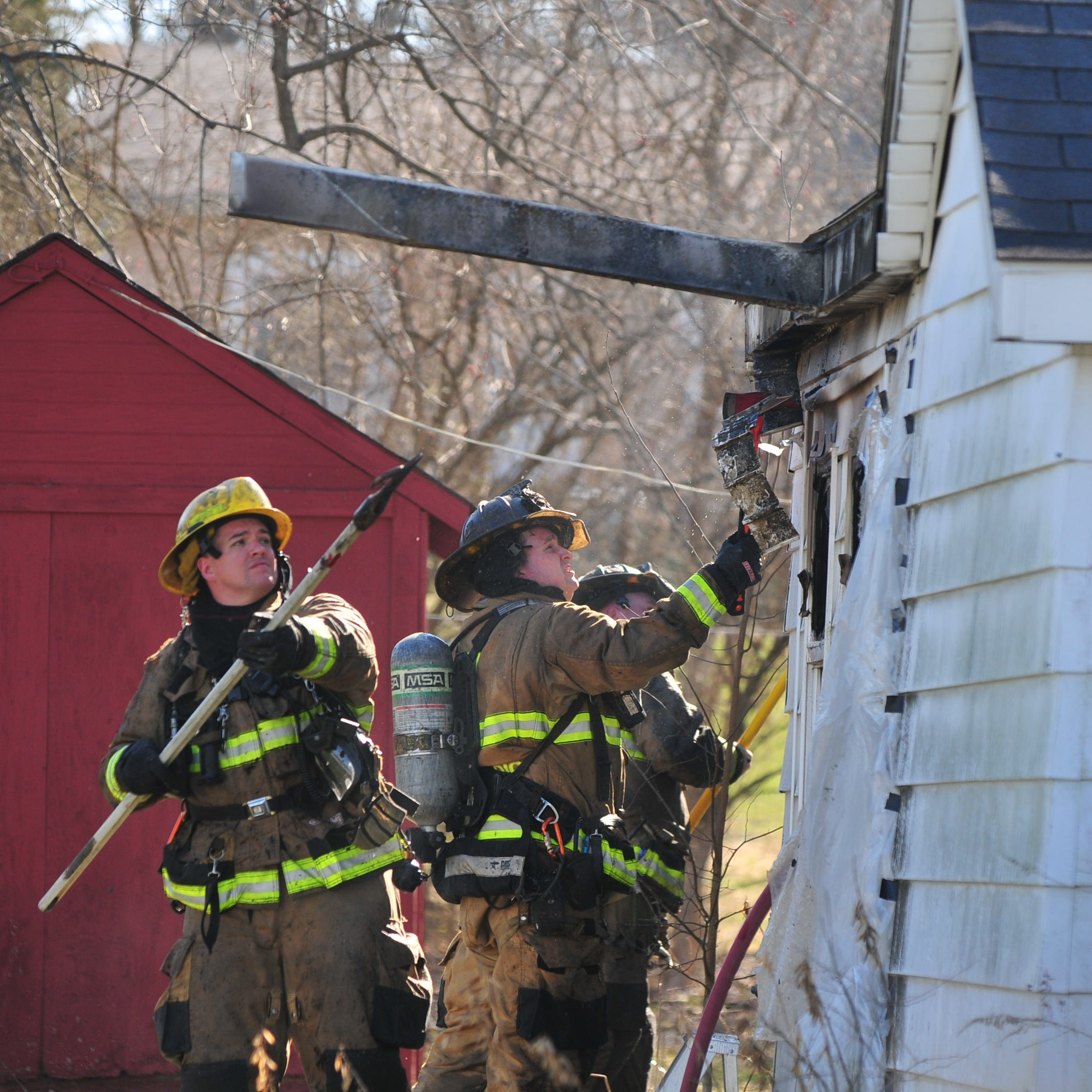 Space heater's extension cord blamed for South 11th Street house fire