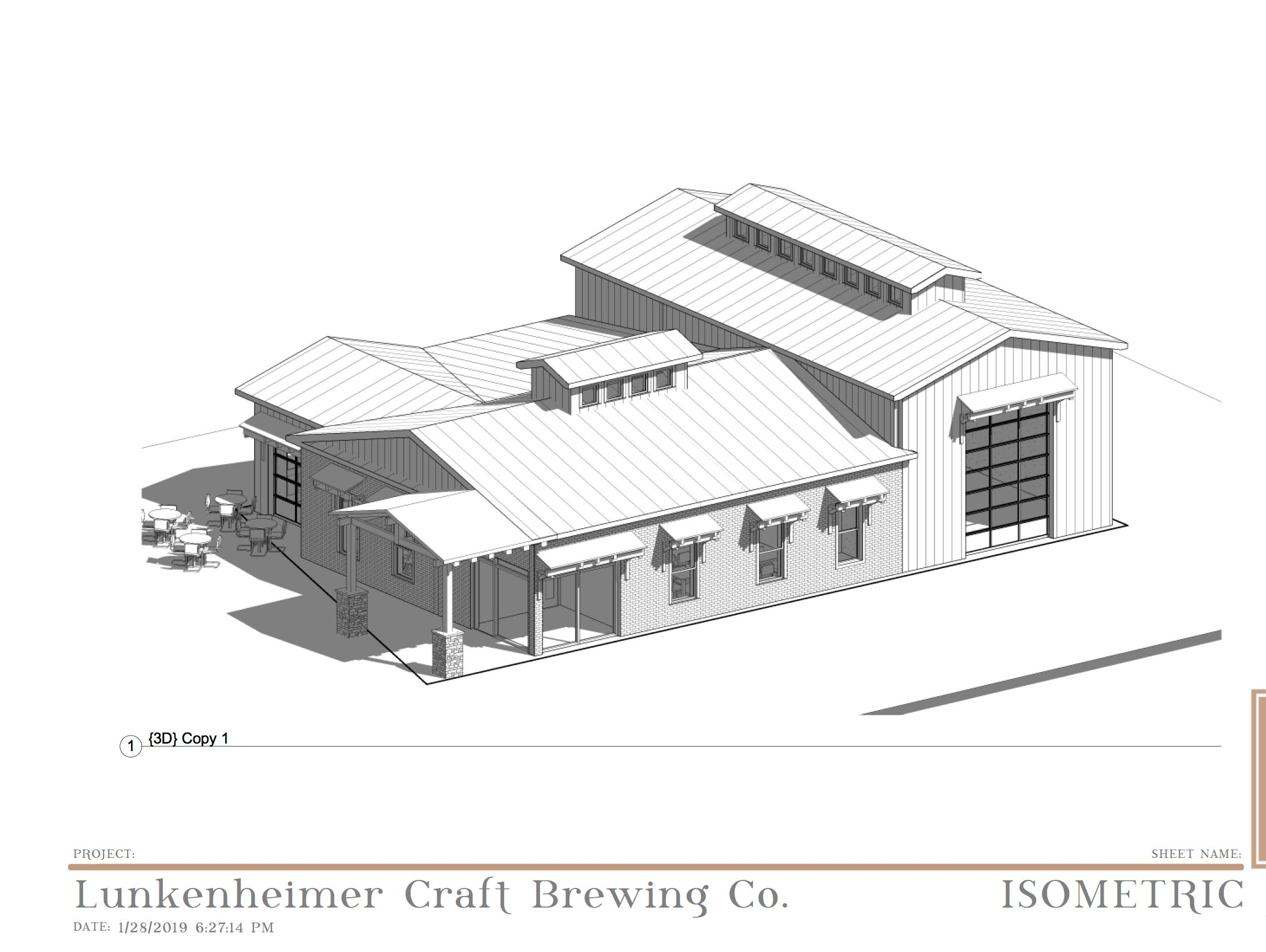 The proposed expanded location of Lunkenheimer Craft Brewing in Weedsport, Cayuga County.