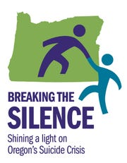 Breaking the Silence logo for suicide stories.