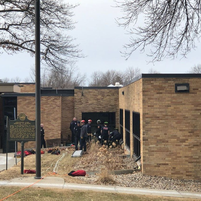 LifeScape employee rescued after falling through grate in Sioux Falls