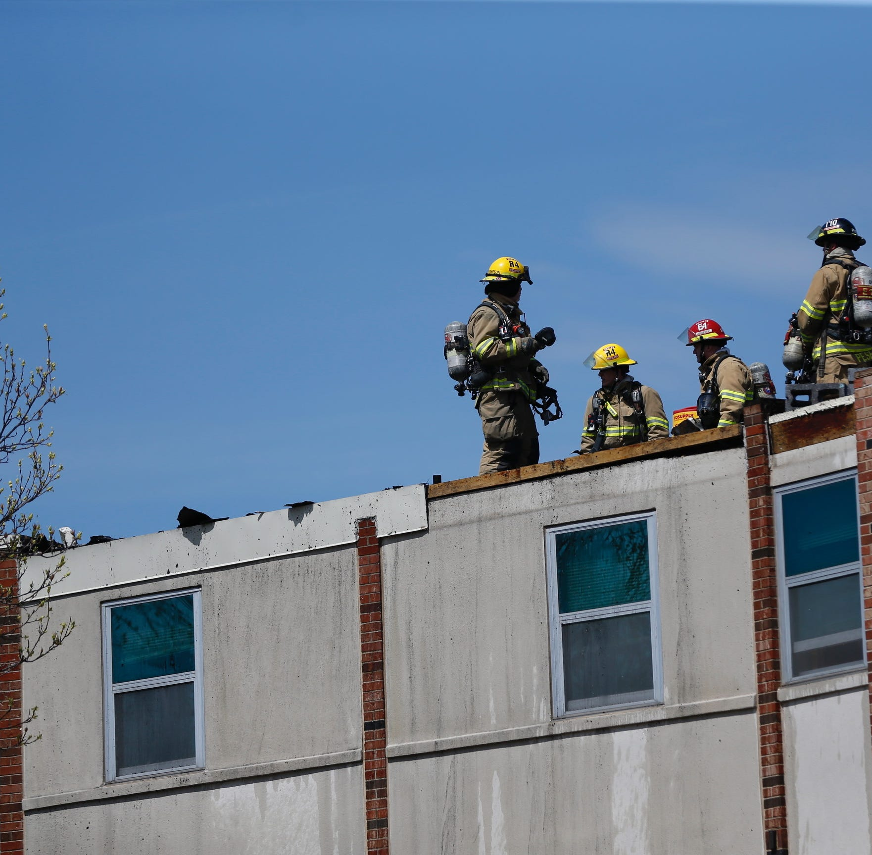 Fire causes evacuation of Evangel dormitory