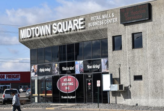 Major external renovations are planned for Midtown Square in St. Cloud.