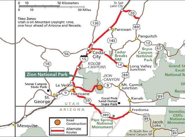 Zion-Mount Carmel closing for road repairs for three weeks on April on watchman zion map, zion national park trail map, zion park utah map, arches national park utah map, mt zion national park map, cuyahoga valley national park road map, zion national park acres map, bighorn national forest road map, zion national park map and guide, palo duro canyon road map, bryce and zion arches national park map, las vegas to zion national park map, kings canyon national park road map, las vegas road map, bryce canyon road map, brigham city road map, zion park shuttle map, denali national park and preserve road map, narrows zion national park map, bryce canyon national park utah map,