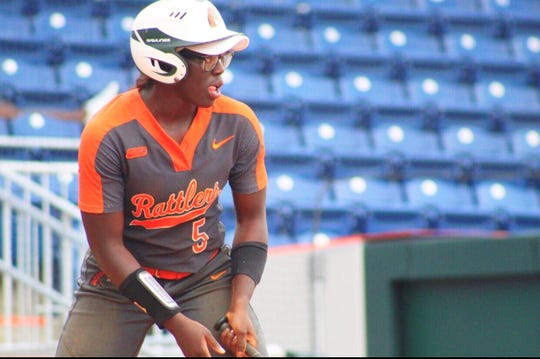 FAMU outfielder Alexis Day is a top-15 hitter in the MEAC. The Rattlers are currently undefeated in the conference.