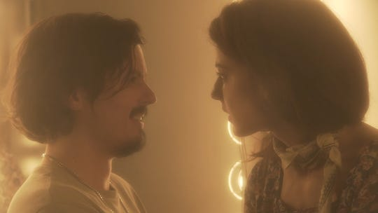 "Keith Poulson and Esther Garrel in ""The Great Pretender"""
