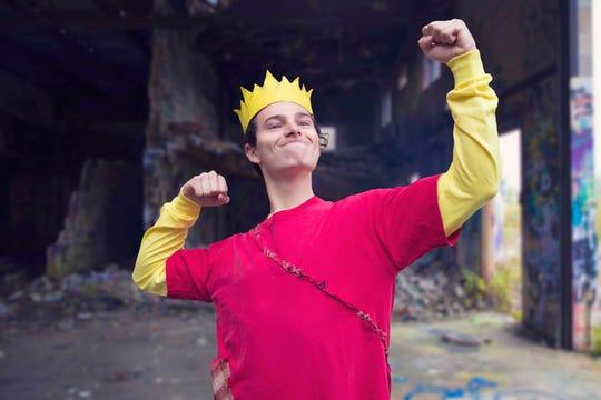 "Blake Lafita plays Bart Simpson in FSU's ""Mr. Burns: A Post-Electric Play"""