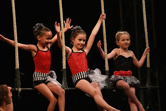 Kid performers take over the circus Sunday.
